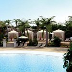 Outdoor Pool & Cabanas