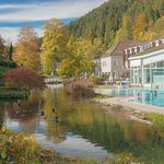 Outdoor pool at Hotel Therme Bad Teinach