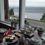 breakfast views over the loch
