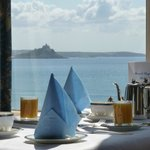 Silver Service at breakfast at Mount Royal in Penzance