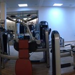 panorama view of the gym