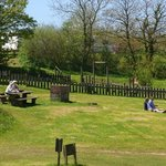 Picnic at Tamar Lakes, close to Forda Farm B&B, North Devon and Cornwall border