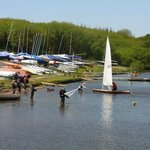 Sailing and Water sports at Tamar Lakes close to Forda Farm accommodation