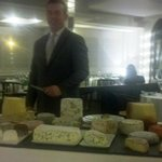 The world's best cheese cart