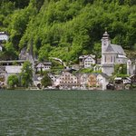 Hallstatt, when taking the boat to the train station