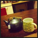 Herbal tea in the kitchen (complimentary)