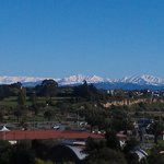View across Timaru after fresh snow