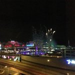 darling harbour fireworks from our room