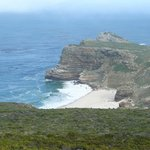 Looking from Cape Point towards the Cape of Good Hope