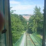 riding the rail to the tower