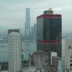 Kowloon from the room window