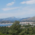 A view looking towards Puerto Pollensa