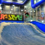 Surf-Style Flowrider Indoor Surfing Wave Machine