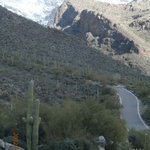 If you're into hiking and terrific scenery, this is Pima Canyon Trail.  http://www.localhikes.co