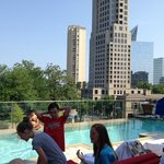 View of Buckhead from pool