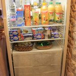 La Muraglia- Fridge with Breakfast products