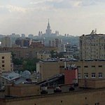 view from 11th floor (Moscow State U)