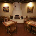 Santa Fe Sage Inn Breakfast Room