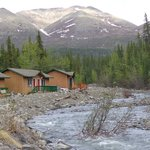 Cabins on creek