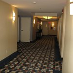 the hallway leading to our room...very spacious and easy to navigate