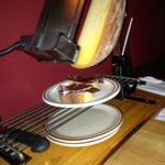 Raclette - Cheese wheel