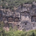 Lycian Rock Tombs, Dalyan, Turkey