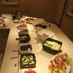 Evening Buffet Salad Bar