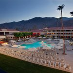Pool Courtyard with San Jacinto Mountains