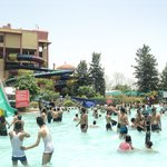 Thw water park's main pool!