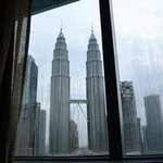 Twin Towers View from Room