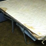 Mattress on pullout!