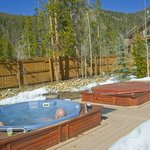 Common area hot tubs