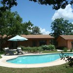 Sacious grounds and the only B and B in San Marcos with a pool!