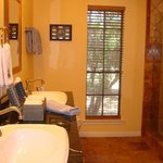 All suites feature luxurious baths with double vanities