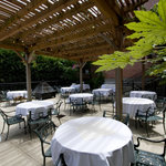 Ironwork Patio - Open for lunch & dinner; can be reserved for private events