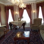 Living room in Suite Savannah