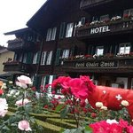 Chalet Swiss - rose garden