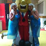 Picture with Mr Tayto!