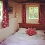 Cute shepherds hut - we loved it!!!