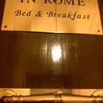 In Rome Bed & Breakfast resmi
