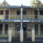 Hay Street Backpackers front view