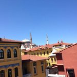 view from rooftop terrace. Aya Sofia