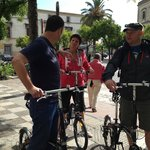 Guided bicycle tour
