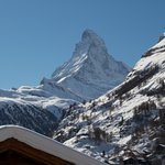 View of the Matterhorn from my west-facing room.