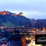 Edinburgh Skyline at Hogmanay