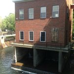 Another building on the river next door