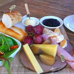ploughman s platter and Hot Chocolate