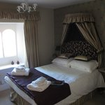 Our bedrom at the Swan Inn