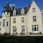 Afternnon sunshine at Chateau Le Briou D'Autry