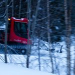 Well maintained cross-country ski trails